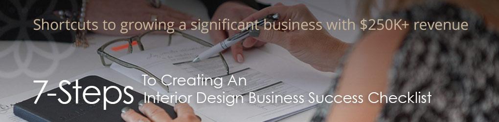7 Steps to Interior Design Success Checklist