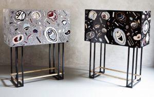 Bethan Laura Wood Hot Rock Cabinets