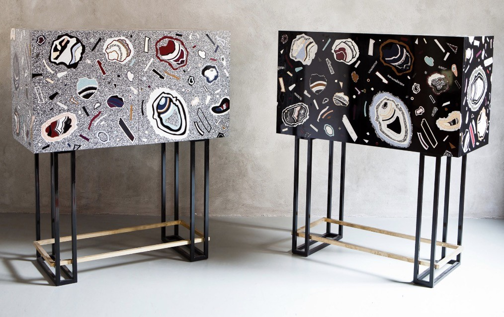 Bethan Laura Wood Hot Rock Cabinets
